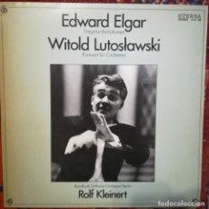 Discos de vinilo: ELGAR,VARIACIONES ENIGMA/LUTOSLAWSKI,CONCIERTO PARA ORQUESTA.DIRECTOR R. KLEINERT.SELLO ETERNA,1979. Lote 172221503
