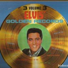 Discos de vinilo: ELVIS PRESLEY. LP. SELLO RCA LINEATRES. EDITADO EN ESPAÑA. AÑO 1986. Lote 172221729