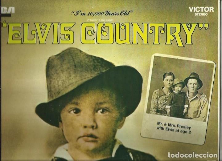 ELVIS PRESLEY. LP. SELLO RCA LINEATRES. EDITADO EN ESPAÑA. AÑO 1987 (Música - Discos - LP Vinilo - Pop - Rock - Extranjero de los 70)