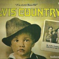 Discos de vinilo: ELVIS PRESLEY. LP. SELLO RCA LINEATRES. EDITADO EN ESPAÑA. AÑO 1987. Lote 172221955