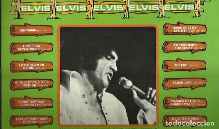 Discos de vinilo: ELVIS PRESLEY. LP. SELLO RCA LINEATRES. EDITADO EN ESPAÑA. AÑO 1987 - Foto 2 - 172221955