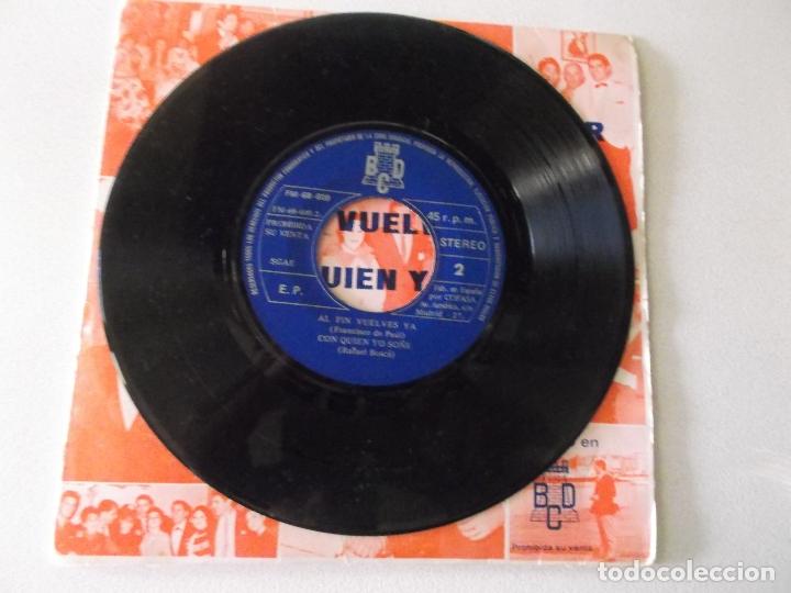 Discos de vinilo: antonio latorre 1974 cumbia quiero bailar / mi cumbia alegre / al fin vuelves ya / PROMOCIONAL - Foto 3 - 172223109