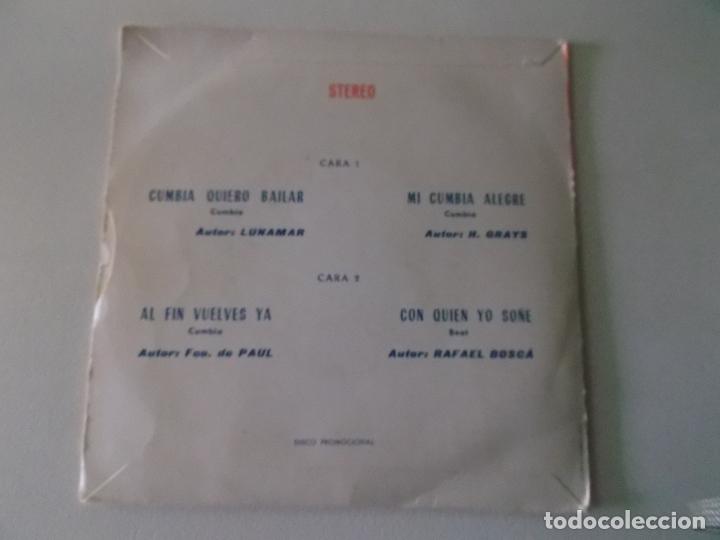 Discos de vinilo: antonio latorre 1974 cumbia quiero bailar / mi cumbia alegre / al fin vuelves ya / PROMOCIONAL - Foto 4 - 172223109