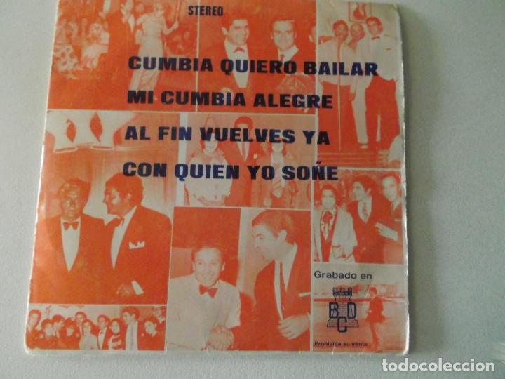 ANTONIO LATORRE 1974 CUMBIA QUIERO BAILAR / MI CUMBIA ALEGRE / AL FIN VUELVES YA / PROMOCIONAL (Música - Discos de Vinilo - EPs - Grupos Españoles de los 70 y 80)