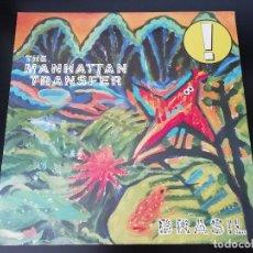 Discos de vinilo: MANHATTAN TRANSFER: BRASIL - LP (1987). Lote 172224870