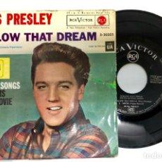 Discos de vinilo: EP EDITADO EN ESPAÑA ELVIS PRELEY FOLLOW THAT DREAM 4 GREAT SONGS RCA VICTOR 3-20355. Lote 172227492