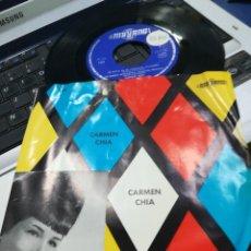 Discos de vinilo: CARMEN CHÍA EP TE LLEVO EN MI CORAZÓN + 3 1966. Lote 172241489