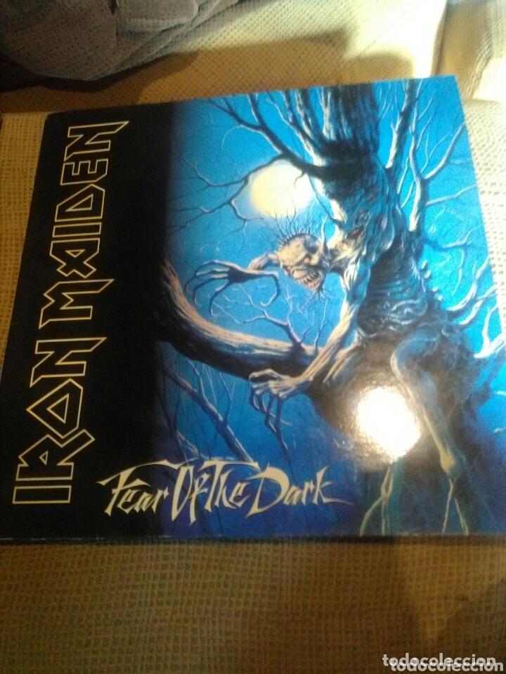 VINILO DOBLE IRON MAIDEN. FEAR OF THE DARK (Música - Discos - LP Vinilo - Heavy - Metal)