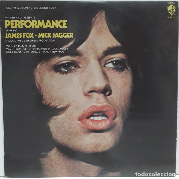 PERFOMANCE. JACK NITZSCHE.MICK JAGGER (Música - Discos - LP Vinilo - Bandas Sonoras y Música de Actores )