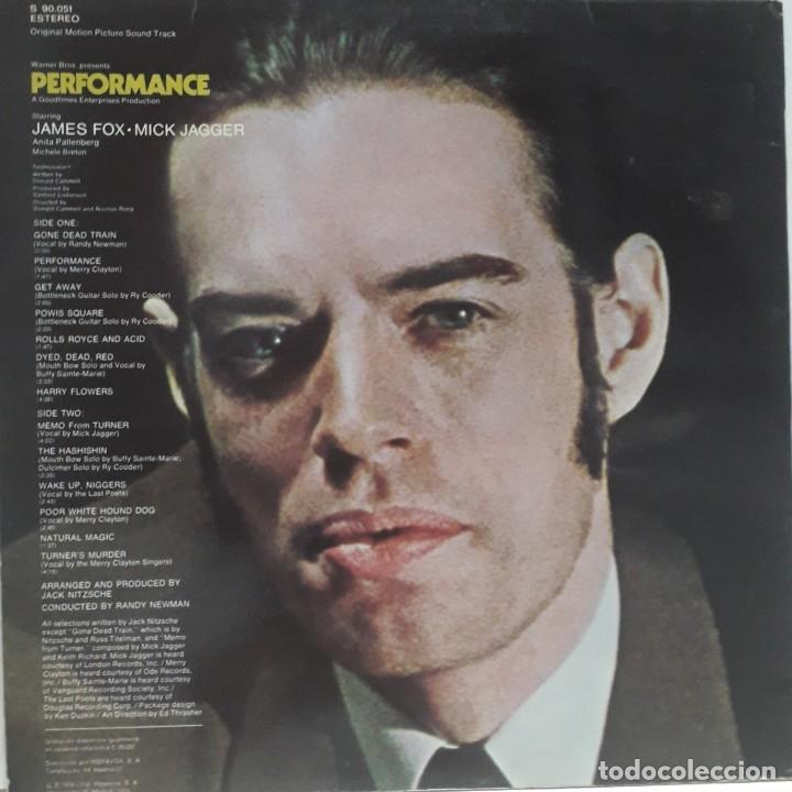 Discos de vinilo: PERFOMANCE. JACK NITZSCHE.MICK JAGGER - Foto 2 - 172247398