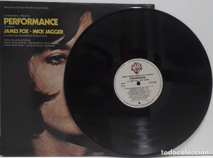 Discos de vinilo: PERFOMANCE. JACK NITZSCHE.MICK JAGGER - Foto 3 - 172247398