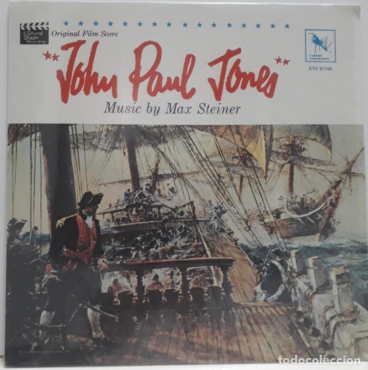JOHN PAUL JONES. MAX STEINER (Música - Discos - LP Vinilo - Bandas Sonoras y Música de Actores )