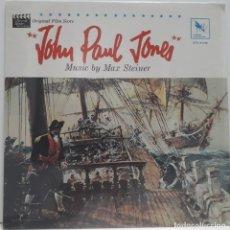 Discos de vinilo: JOHN PAUL JONES. MAX STEINER. Lote 172247605