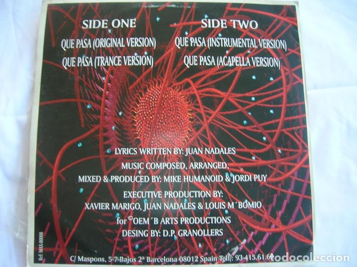 Discos de vinilo: DISCO NAKED , TEMA ,QUE PASA VER FOTOS - Foto 2 - 263889780
