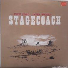 Discos de vinilo: LA DILIGENCIA. STAGECOACH. VVAA. JOHN FORD. Lote 172248035