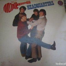 Discos de vinilo: THE MONKEES - HEADQUARTERS LP - ORIGINAL U.S.A. - COLGEMS RECORDS 1967 - MONOAURAL -. Lote 172254150