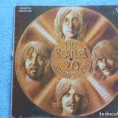 Discos de vinil: THE BEATLES,20 EXITOS DE ORO EDICION ESPAÑOLA DEL 79. Lote 172268554