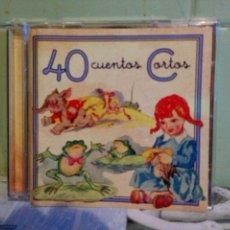 Discos de vinilo: 40 CUENTOS CORTOS - CD. Lote 172276074