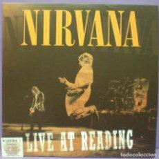 Discos de vinilo: NIRVANA - LIVE AT READING - 2XLP GATEFOLD. Lote 172277030