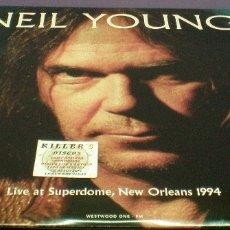 Discos de vinilo: NEIL YOUNG - LIVE AT SUPERDOME, NEW ORLEANS 1994 - LP. Lote 172277227