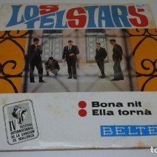 Discos de vinilo: DISCO SINGLE VINILO . LOS TELSTARS . BONA NIT . ELLA TORNA .. Lote 172278603