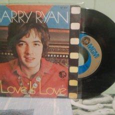 Discos de vinilo: BARRY RYAN LOVE IS LOVE SINGLE SPAIN 1969 PDELUXE. Lote 172282334