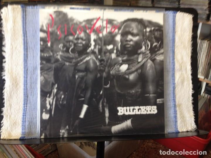 BULLETS - PSICOVELA (PUNK SPAIN) ALBUM LP ORIGINAL 1992 (NUEVO SIN USAR) (Música - Discos - LP Vinilo - Punk - Hard Core)