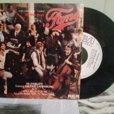 Discos de vinilo: BANDA SONORA ORIGINAL - V.LANDSBURG LOS CHICOS DE FAMA - HI-FIDELITY SINGLE SPAIN 1982 PDELUXE. Lote 172285639