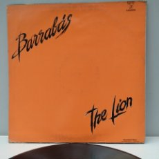 Discos de vinilo: BARRABAS THE LION. Lote 172287638