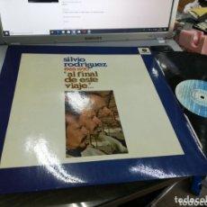 Discos de vinilo: SILVIO RODRÍGUEZ LP AL FINAL DE ESTE VIAJE ESPAÑA 1984. Lote 194604150