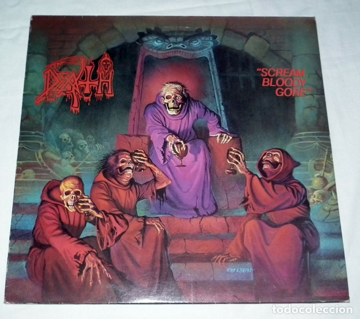 LP DEATH - SCREAM BLOODY GORE (Música - Discos - LP Vinilo - Heavy - Metal)