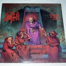 Discos de vinilo: LP DEATH - SCREAM BLOODY GORE. Lote 172297419