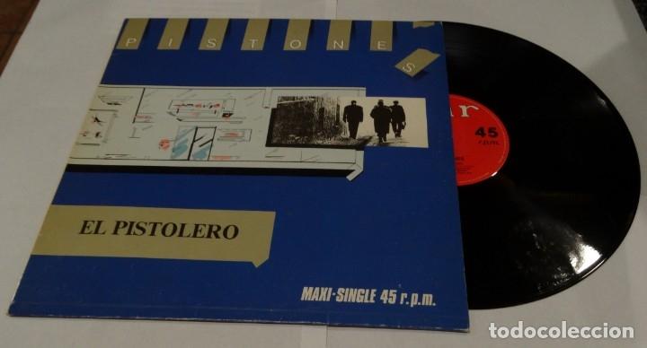 EL PISTOLERO- PISTONES MAXI SINGLE 1983 - METADONA (Música - Discos de Vinilo - Maxi Singles - Grupos Españoles de los 70 y 80)