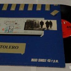 Discos de vinilo: EL PISTOLERO- PISTONES MAXI SINGLE 1983 - METADONA. Lote 172300473