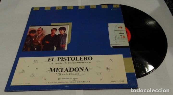 Discos de vinilo: EL PISTOLERO- PISTONES MAXI SINGLE 1983 - METADONA - Foto 2 - 172300473