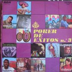 Discos de vinilo: LP - POKER DE EXITOS - VARIOS (SPAIN, RCA VICTOR 1969). Lote 172305945