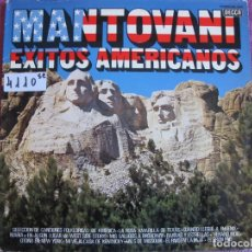 Discos de vinilo: LP - MANTOVANI - EXITOS AMERICANOS (SPAIN, DECCA 1977). Lote 172308492