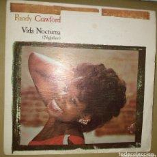 Discos de vinilo: RANDY CRAWFORD - VIDA NOCTURNA. Lote 172311508