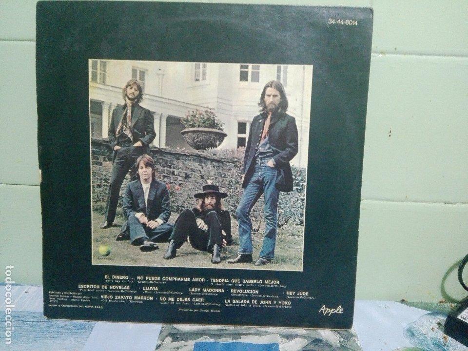 Discos de vinilo: THE BEATLES HEY JUDE - APPLE LP ARGENTINA 1970 PEPETO TOP - Foto 2 - 172320117