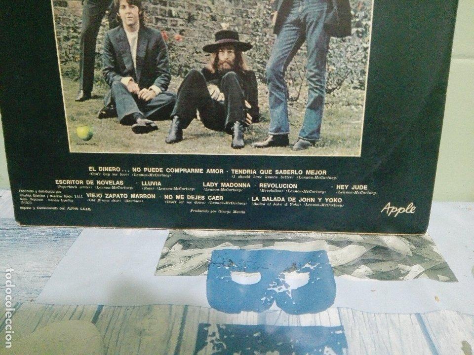 Discos de vinilo: THE BEATLES HEY JUDE - APPLE LP ARGENTINA 1970 PEPETO TOP - Foto 3 - 172320117