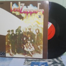 Discos de vinilo: LED ZEPPELIN LED ZEPPELIN II LP SPAIN 1969 PEPETO TOP . Lote 172320439