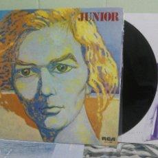 Discos de vinilo: JUNIOR JUNIOR LP SPAIN 1975 PEPETO TOP . Lote 172320470