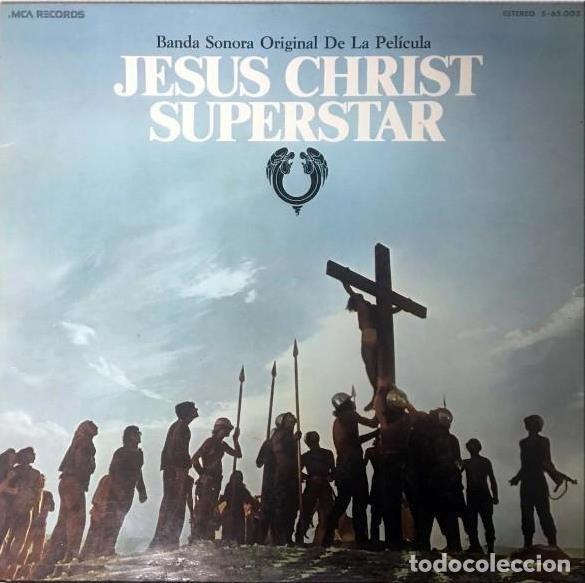 JESUS CHRIST SUPERSTAR (JESUCRISTO SUPERSTAR)-ANDREW LLOYD WEBBER - TIM RICE (2LP) (Música - Discos - LP Vinilo - Bandas Sonoras y Música de Actores )
