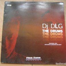 Discos de vinilo: DJ DLG ?– THE DRUMS - FINE-TUNE RECORDS 2005 - MAXI - PLS 885. Lote 172330390