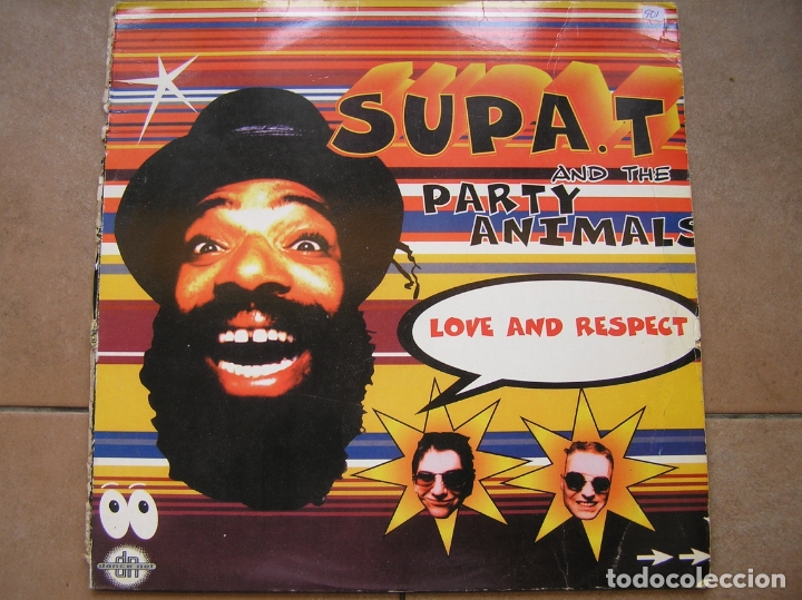 Discos de vinilo: Supa. T and The Party Animals ?– Love And Respect - BMG 1996 - MAXI - PLS 901 - Foto 1 - 172331920