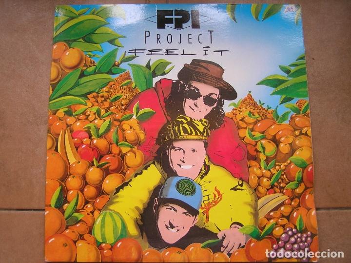 FPI PROJECT ?– FEEL IT - PARADISE PROJECT RECORDS 1992 - MAXI - PLS 909 (Música - Discos de Vinilo - Maxi Singles - Electrónica, Avantgarde y Experimental)