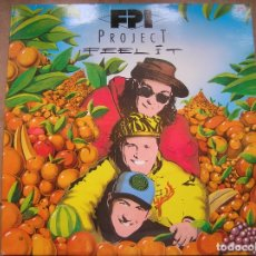 Discos de vinilo: FPI PROJECT ?– FEEL IT - PARADISE PROJECT RECORDS 1992 - MAXI - PLS 909. Lote 172332597