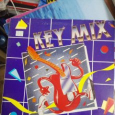 Discos de vinilo: KEY MIX KEY RECORDS INT. – KRI-MX-1. 1986. ITALO DISCO. COMO NUEVO. Lote 172337819