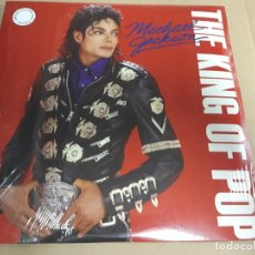 Discos de vinilo: MICHAEL JACKSON - KING OF POP 3 LPS -NUEVOS!!!!!!!. Lote 172339195