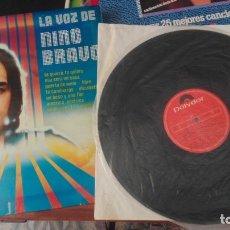 Discos de vinilo: VINILO LP - LA VOZ DE NINO BRAVO /. Lote 172343643